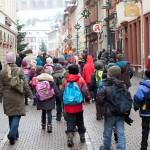 Durch die Heidelberger Fußgängerzone
